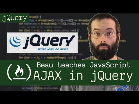 jQuery: AJAX - Beau teaches JavaScript