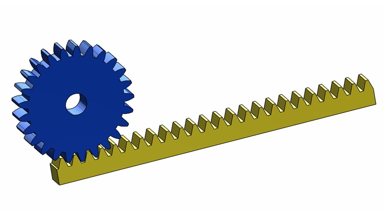 Rack And Pinion >> Solidworks Tutorial 12 Design A Rack And Pinion Mechanism