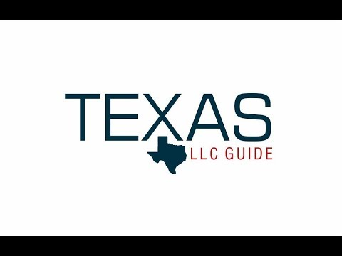 Cost of Filing Texas LLC Certificate of Formation (Form 205 ...