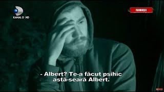 Barfe despre RAZBOINICI in tabara FAIMOSILOR! Albert, subiectul principal pentru Sebastian...!