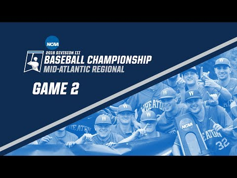 2018 NCAA DIII Baseball Mid-Atlantic Regional - GAME 2