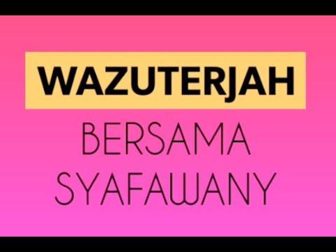 WazuTerjah Ep01 - Tanya Syafa Wany