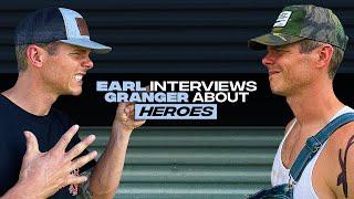 Earl Dibbles Jr interviews Granger Smith - Heroes YouTube Videos