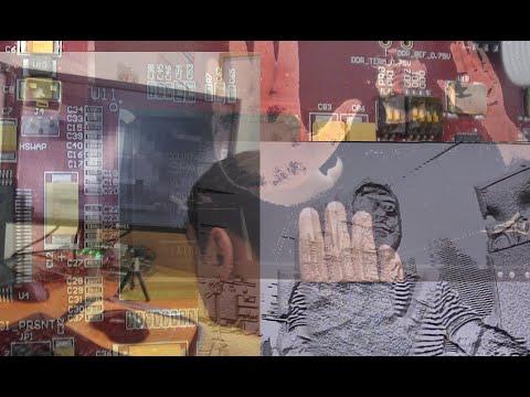 Demonstration of Real Time Computer Vision Algorithms on FPGA platform