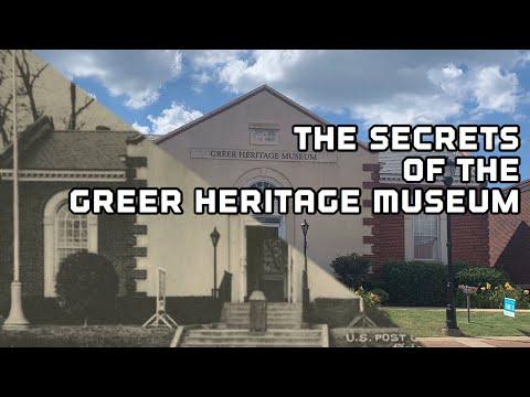 The Secrets Of Greer Heritage Museum, Greer SC