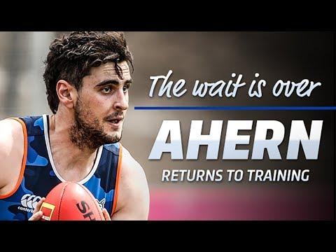 Paul Ahern returns to training (November 23, 2017)