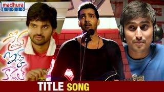 Prema Ishq Kaadhal Telugu Movie Songs   Title Song   Harshvardhan Rane   Ritu Va …