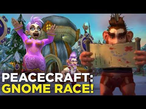 PeaceCraft: Raandyy Takes On The Great Gnomeregan Run!