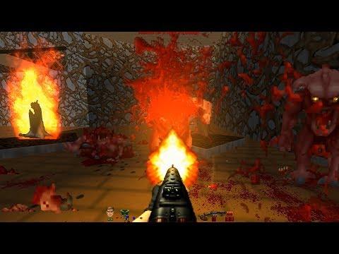 Doom the Way id Did – Lost Episodes   E2M1: Biosphere [Brutal Doom v21 RC1]