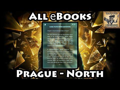 Deus Ex Mankind Divided - All eBooks In Prague North (Old & Modern Districts)