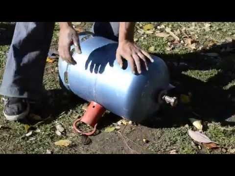Retirer le robinet d 39 une bouteille de gaz vide facilement - Detendeur bouteille de gaz ...