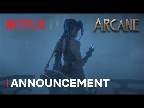 Arcane: A league Of Legends Animated Series Teaser trailer Netflix Coming This Fall