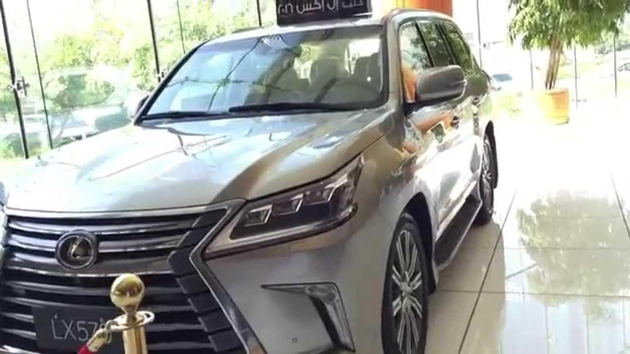 مشاهدة جيب لكزس Lx570 2016 بريمي وارد بهوان اللون الذهبي Lexus Lx 570 In Oman Youtube