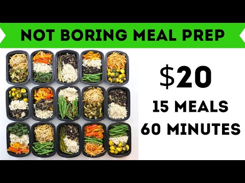 How To Mix And Match Meal Prep