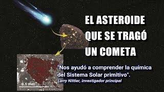 Sorpresa dentro de un meteorito encontrado en la Antártida un antiquísimo material extraterrestre