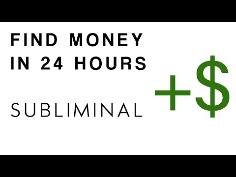 Powerful Subliminals For Attracting Money From Different Directions