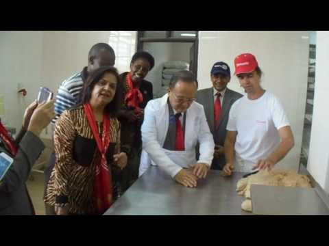 Partners visit at African Angel Bakery