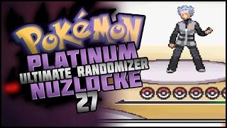 Let's Play Pokemon: Platinum Ultimate Randomizer Nuzlocke   Part 27   MOST POWERFUL MOVE IN POKEMON!