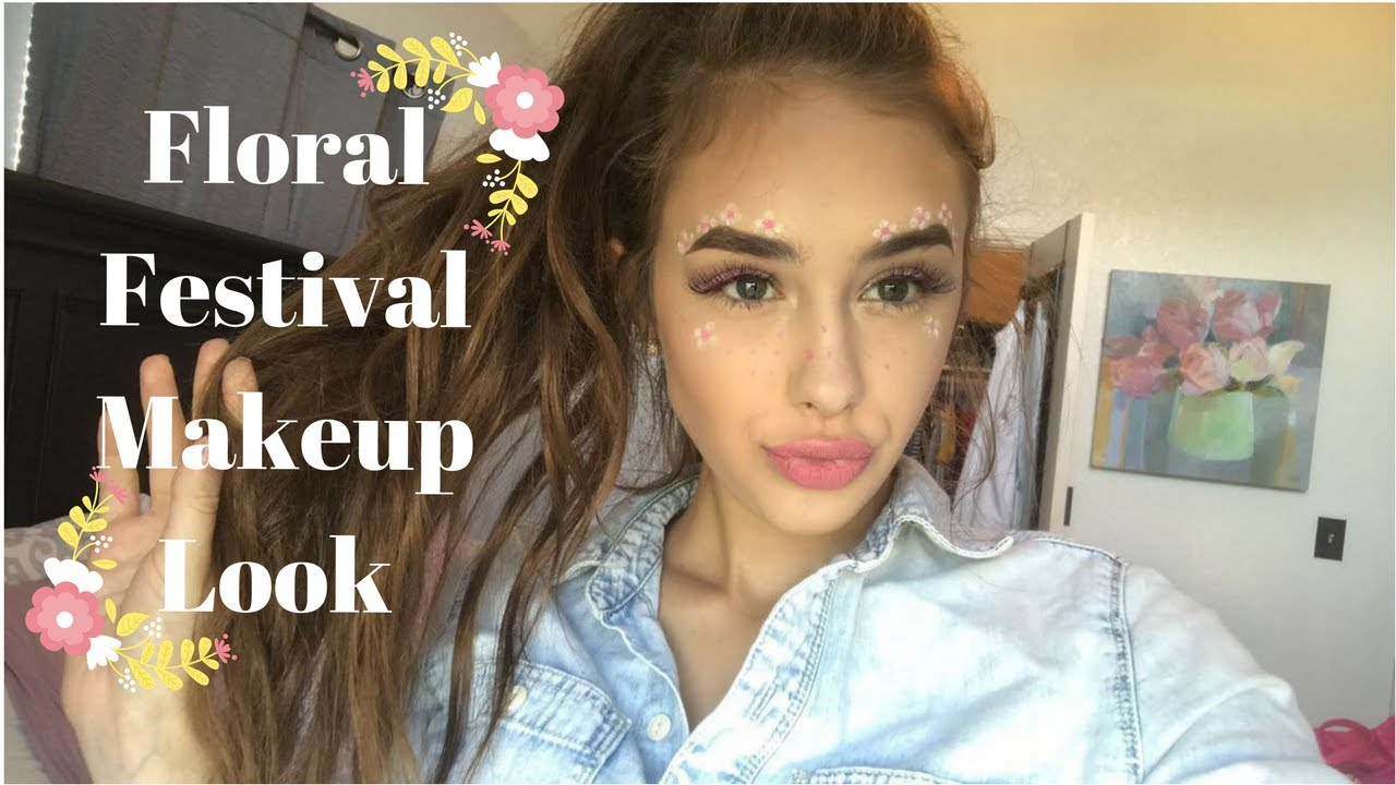 Download FLORAL FESTIVAL MAKEUP TUTORIAL