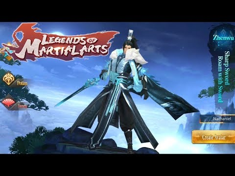 Legends Of Martial Arts Gameplay (MMORPG) Android/IOS