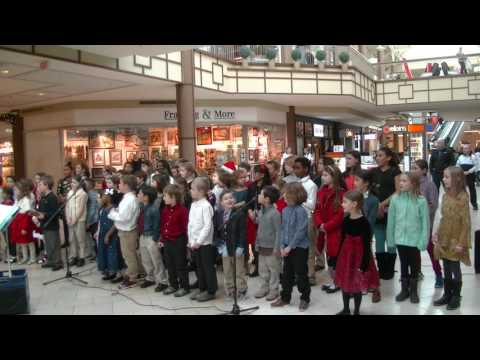Wooster School Lower School Chorus Performing at the Danbury Fair Mall