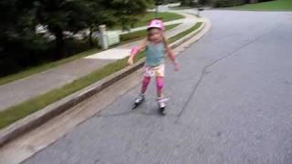Elizabeth is rollerblading Thumbnail
