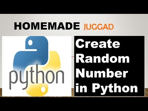 Learn to Create Random number in Python using random Function