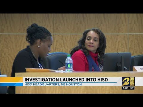 Investigation Launched Into HISD