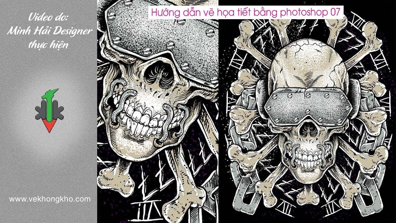 Hướng dẫn vẽ họa tiết bằng Photoshop 07 – vẽ không khó