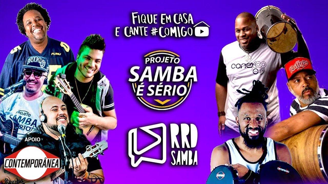 Projeto Samba é Sério no RRD Samba | #FiqueEmCasa e Cante #Comigo