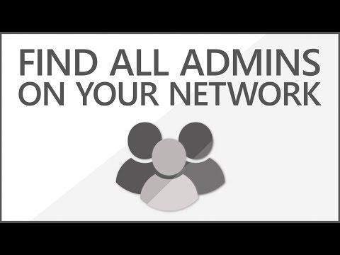 How to Find all Local Admins  | List all Local Administrators