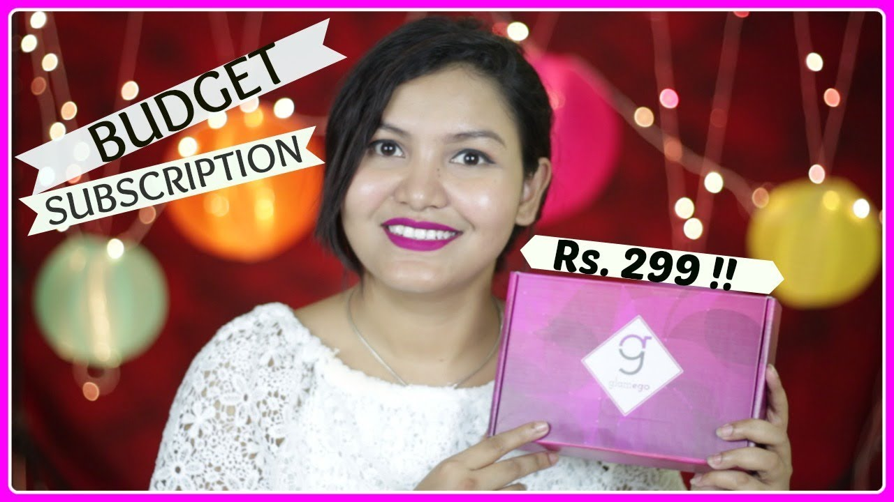 Top Trending Subscription Box In India Glamego Box
