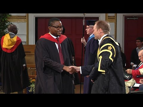 Degree Congregation 3pm Thursday 13 July 2017 - University of Leicester