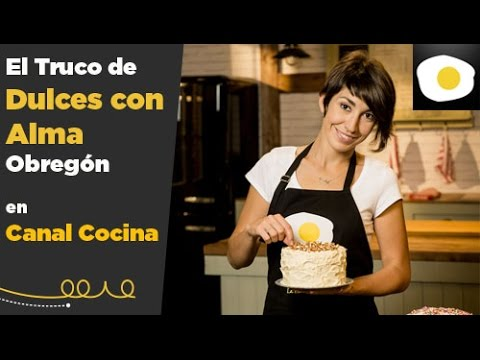 C mo montar bien la nata montada trucos de alma obreg n youtube - Canal cocina alma obregon ...