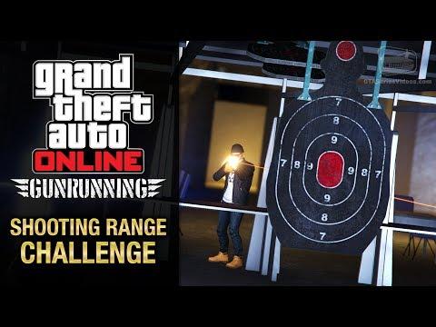GTA Online Gunrunning - Shooting Range Challenge (3 Stars)
