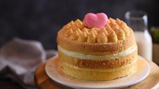 【巧厨烘焙/QiaoChuBaking】网红豆乳蛋糕/Online star soymilk dairy cake