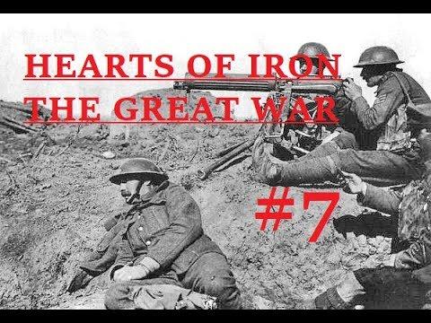HOI4 The Great War Mod Teil 7 - Serbien, Frankreich und 'ne zweite Russische Revolution