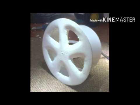 Как сделать литые диски для модели авто