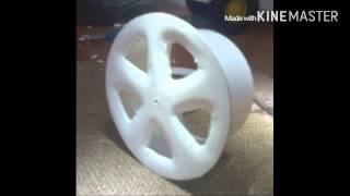 Как сделать литые диски для модели авто(Я в ВК: https://m.vk.com/kirillanacko Моя группа в ВК: https://m.vk.com/club96087439., 2016-02-20T18:30:01.000Z)