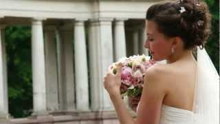 Чудесная свадьба в усадьбе Архангельское. Видеосъёмка 9153299688 Владимир