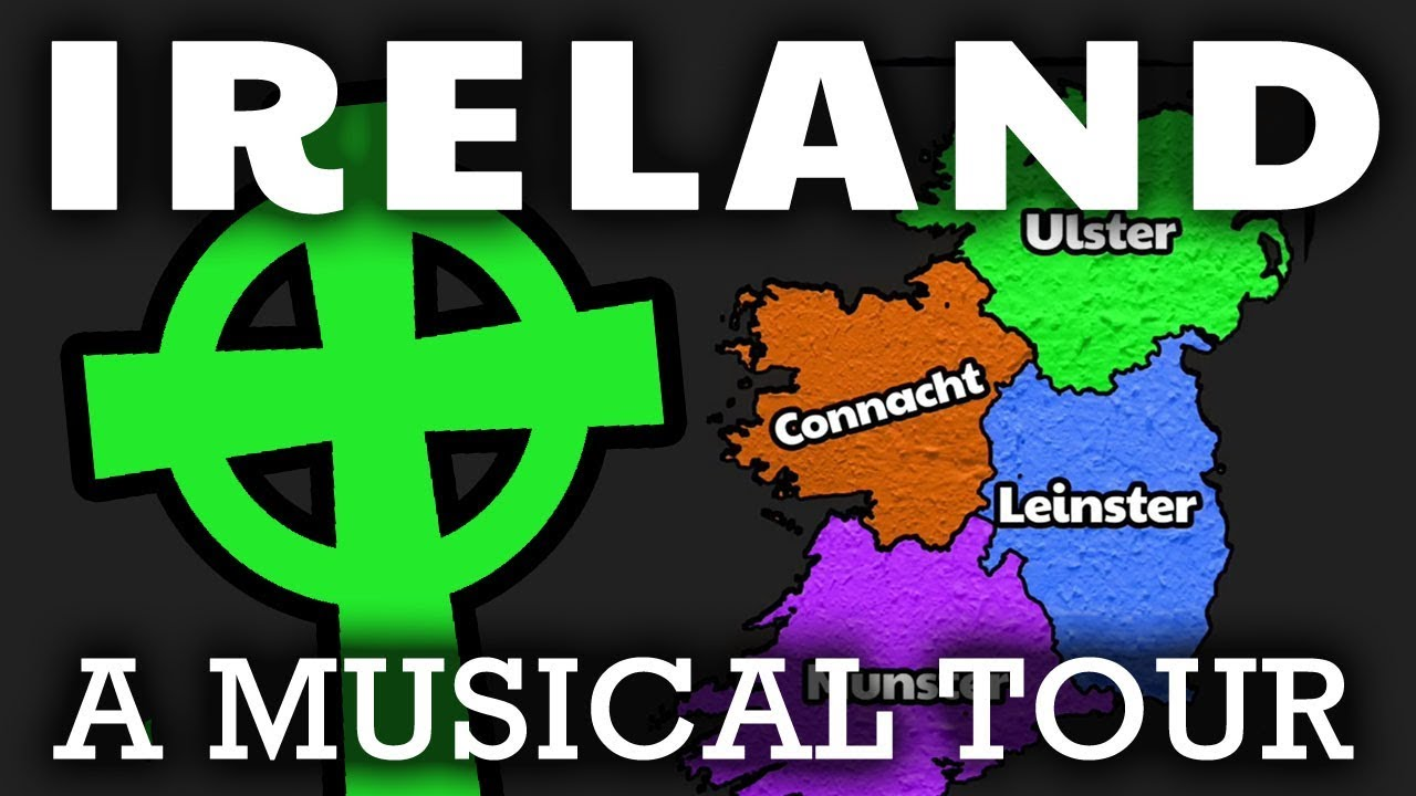 Interactive Map Of Ireland For Kids.Ireland Song For Kids The Country Of Ireland Geography Song