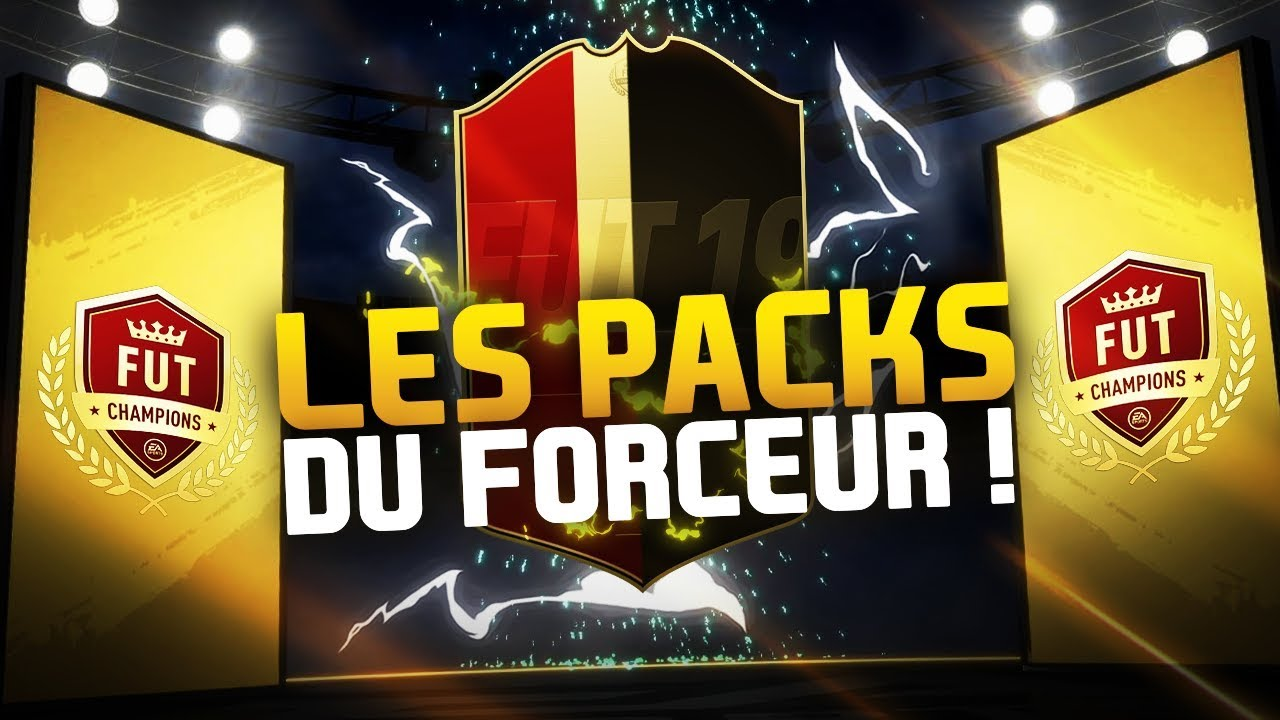 PACKS FUT CHAMPIONS DU FORCEUR !