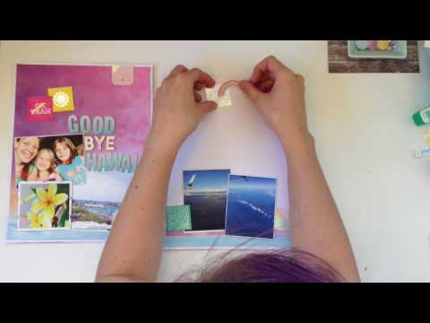 Clique Kits: Yearbook Blog Layout: Goodbye Hawaii, Hello Washington