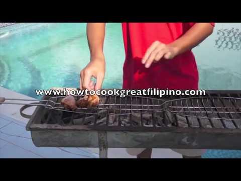 BBQ Chicken Pinoy Style Recipe - Philippines Filipino 