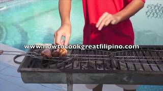 Bbq Chicken Pinoy Style Recipe - Philippines‬ Filipino ‬