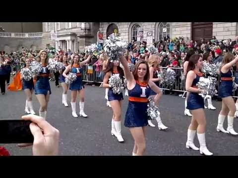 St Patrick's Day Parade in Dublin 17/03/2014