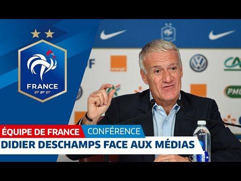 Equipe de France : Extraits de la conférence de Didier Deschamps I FFF 2018