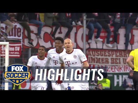 FC Ingolstadt 04 vs. Bayern Munich | 2016-17 Bundesliga Highlights