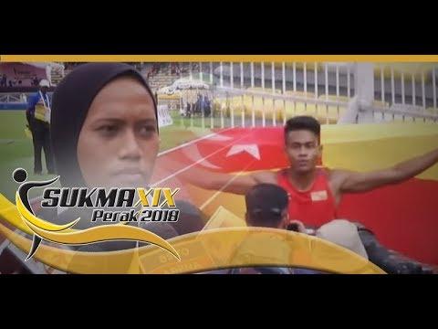 SUKMA 2018:Aqil, Azreen Manusia Terpantas SUKMA 2018  18 Sept