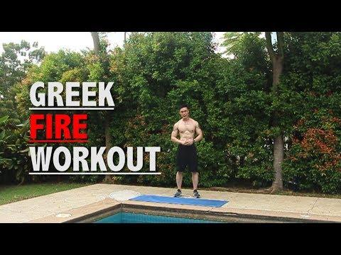 GREEK FIRE WORKOUT (Fat Burn Workout - Beginners)